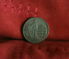 1795 Bayly Draper in Poole Copper Farthing World Coin Token Great Britain Uk