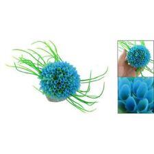 Herbe/plante aquatique artificielle en plastique Decoration pour aquarium D H8Y3