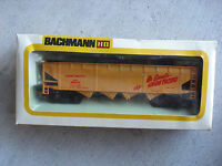 Vintage HO Scale Bachmann Union Pacific Hopper Car in Box 1006 01