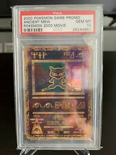 PSA 10 Gem Mint Pokemon 2000 Movie Game Promo- Ancient Mew!