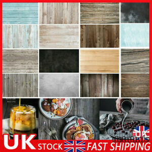 Double Sided Backdrop Paper Food Product Instagram Photo Drop Background HOT~ UK