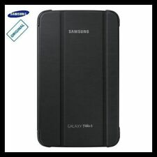 SM-T310 Samsung Galaxy Tab 3 8.0 Case Cover Stand Black Leather Folio Genuine