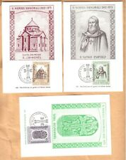 maximum maxi card set 1973 Vatican S. Nerses Shnorali