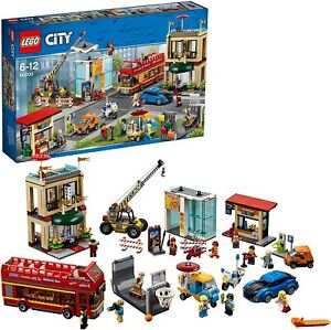 Lego City 60200 DOWNTOWN CAPITAL CITY Building Set With Bus Cars & 13 Minifigs