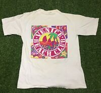 Vintage 90's Single Stitch Venice Beach Club T-shirt Size Large