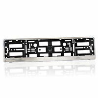 1 x Chrome Number Plate Holder Frame Licence Plate Surround for Any Car