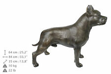 American Staffordshire terrier, natural size statue, Art Dog Limited Edition, Ca