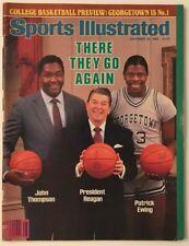 RONALD REAGAN November 26, 1984 Sports Illustrated Magazine - NO LABEL