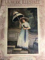 Edwardian MODE ILLUSTREE June 23,1912+ sewing PATTERN - Toilettes de reunion