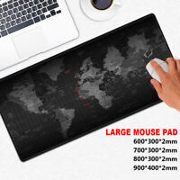 90x40cm~Extra Large Gaming Mouse Pad Anti-slip Rubber Computer Keyboard Mice Mat