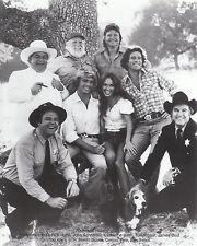 "DUKES OF HAZARD Original 1981 Cast Members 8""X10""  B&W   Photocopy"
