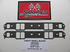 Chevy Small Block Intake Gaskets (Stock Port)