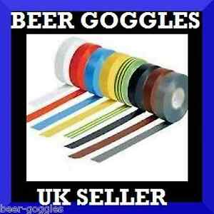 PVC Electrical Insulation Insulating Tape 19mm x 33m - High Quality Colour Code