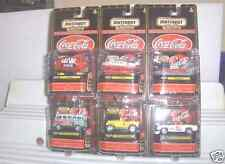 MATCHBOX 1999 PREMIERE COCA COLA SET #3 OF 6 MODELS MINT IN MINT PACKAGES*