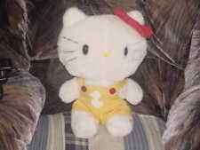 "13"" Vintage Hello Kitty Plush Stuffed Toy From 1983 Sanrio Rare"