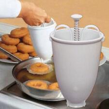 NEW DOUGHNUT MAKER - Donut Dough Machine Utensil Iced Cinnamon Plastic Doughnuts