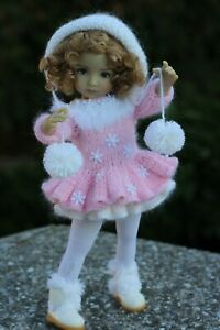 """CHRISTMAS  OUTFIT FOR DIANNA EFFNER LITTLE DARLING 13"""""""