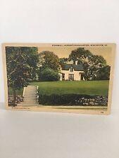 Winchester Va Stonewall Jackson's Headquarters Postcard Old Pc