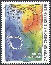 Austria 2011 campaña de cáncer de mama/médico/salud/bienestar 1v (n42219)