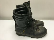 COLD WEATHER ARMY BOOTS UK Size 8M BLACK, Vibram Soles, GORTEX Insulation, VGC