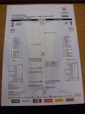 06/03/2007 Chelsea v Porto [UEFA Champions League] Official UEFA Colour Full Tim
