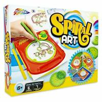 3 In 1 Grafix Spiral Art Spirograph Kids Art Drawing Pattern Toy Set Art R030119