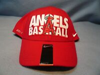Nike Los Angeles Angels Baseball Med-Lg BRAND NEW curved bill hat cap LA Anaheim
