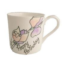 Hand Painted 50th Birthday Gift Fine Bone China Mug