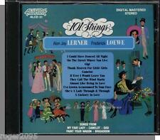101 Strings - Lerner and Loewe - New 1987 Alshire, Easy Listening CD!