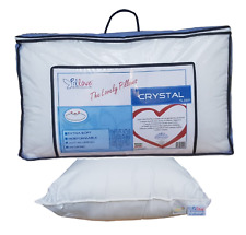 """Cushion Crystal Padded Fibers of Polyester 100% """" Pillove the Pillow' Cotton"""
