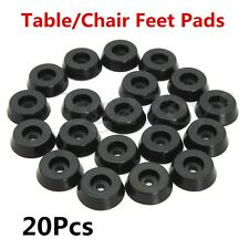 20pcs Rubber Furniture Table Chair Feet Leg Pads Tile Floor Protectors Cover