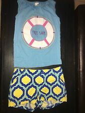 Gymboree outfit Top Shirt Girls  free swim crazy 8 shorts