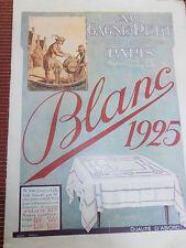 catalogue  au Gagne - Petit - mode - vêtement - blanc - 1925   (ref 26 )