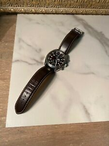 SEIKO watch with leather strap