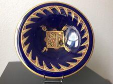 Grande coupe en faïence de Sainte Radegonde Asch Pinon-Mauries Art Déco