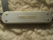 Victorinox Classic SD Swiss Army knife in silver tone Alox - Ed on panel