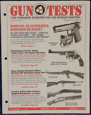 Magazine GUN TESTS February 2002 SMITH & WESSON Model 24-5 .44 Special. REVOLVER