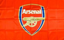 Arsenal Flag 3x5 ft Red Banner England Soccer Football Black Red Gunners