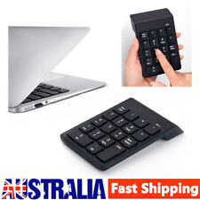 Mini Wireless BT Number Pad Numeric Keypad 18 Keys Digital Keyboards for Laptop