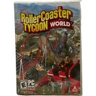 Roller Coaster Tycoon World (pc) 2016 Dvd-rom Windows Computer Game New Sealed