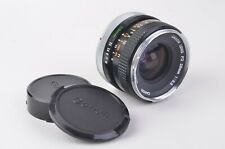 EXC++ CANON FD 28mm f3.5  WIDE ANGLE LENS, CAPS, VERY NICE!