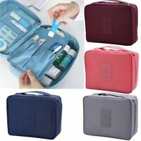 Travel Cosmetic Make up Toiletry Purse Holder Hanging Beauty Organizer Wash Bag