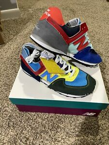 DS New Balance 574 Jaden Smith Sz 10.5 Ready to Ship ALL PAIRS ARE DIFFERENT