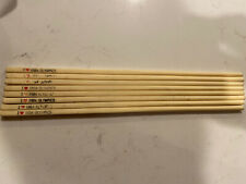 I Love 1984 Olympics Chop Sticks Stix English Chinese Los Angeles Set Of 8!