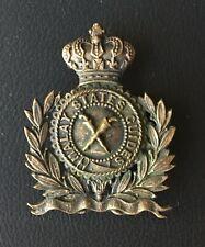 Malay States Guides Cap Badge Singapore Malaya Colonial Artillery Mutiny Sikh