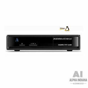 Zgemma Star LC Full HD DVB-C Linux E2 Récepteur de Télévision Câble IPTV Neuf FR