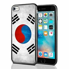 South Korea Grunge Flag For Iphone 7 (2016) & Iphone 8 (2017) Case Cover