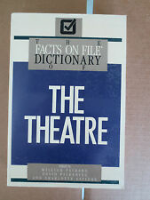Facts on File Dictionary of the Theatre by William Packard (1989, paperback)