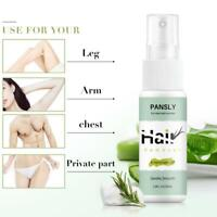 30ml Herbal Hair Removal Spray Painless Underarm Legs Public Hair Body Face Hair