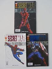 3x SECRET WAR -  Heft 1 - 3 (von 3) komplett (Marvel - Panini Comics)